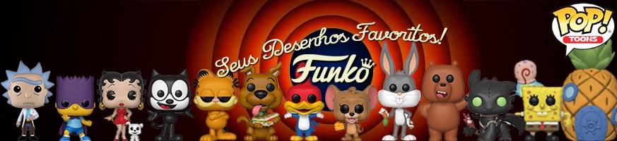 Categoria Funko Pop Desenhos