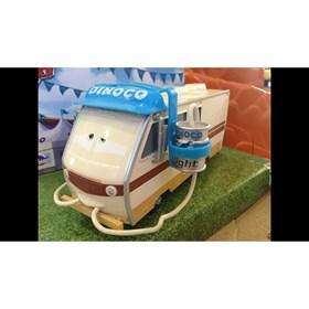 Barry Diesel Cars Carros Disney Pixar Mattel
