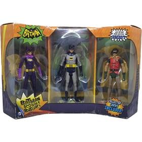 Batman Robin & Batgirl 3-pack Classic TV Series Mattel