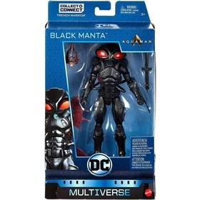 Black Manta DC Multiverse Conjunto com Copo Bandup Mattel