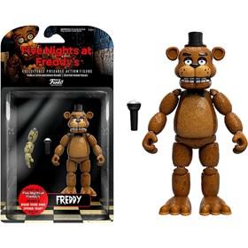 Boneco Articulado Freddy Figure 12,5cm # - Five Nights at Freddy's - FNAF