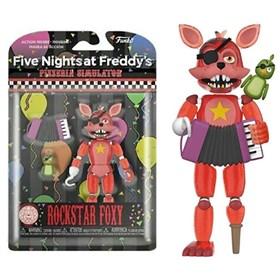 Boneco Articulado Rockstar Foxy Figure 12,5cm - Five Nights at Freddy's - FNAF - Funko