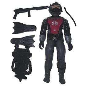 Boneco Cobra Homem Rã Cobra d'Agua completo Comandos em Ação Gi Joe Estrela
