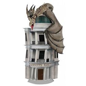 Busto Cofre Harry Potter Gringotts Bank Monogram - Banco Gringotes