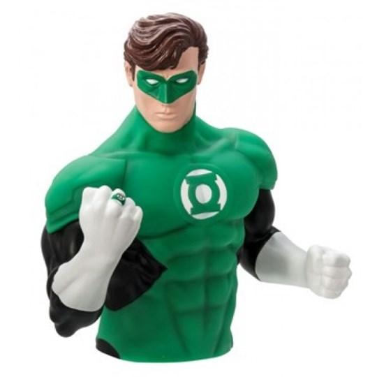 Busto Cofre Lanterna Verde - Green Lantern Bust Bank - Monogram