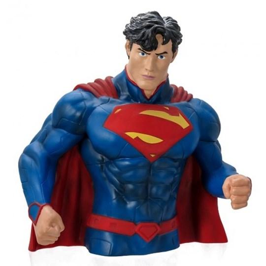 Busto Cofre Superman New 52 -  Bust Bank - Monogram