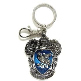 Chaveiro Casa Corvinal de Metal Monogram - Harry Potter Ravenclaw Crest Pewter Keyring