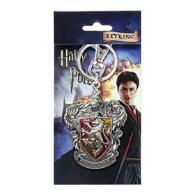 Chaveiro Casa Grifinória de Metal Monogram - Harry Potter Gryffindor Crest Pewter Keyring