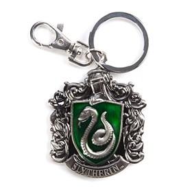 Chaveiro Casa Sonserina de Metal Monogram - Harry Potter Slytherin Crest Pewter Keyring
