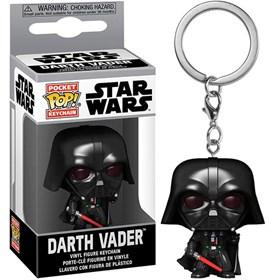 Chaveiro Funko Pop Darth Vader Keychain - Star Wars