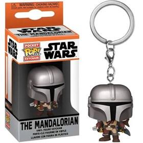 Chaveiro Funko Pop Mandaloriano Keychain - The Mandalorian - Star Wars