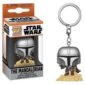 Chaveiro Funko Pop Mando Blaster Keychain - The Mandalorian - Star Wars