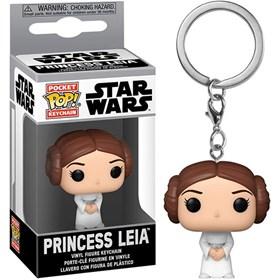 Chaveiro Funko Pop Princess Leia Keychain - Star Wars