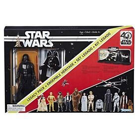 Darth Vader Star Wars 40th Anniversary Legacy Pack - Hasbro