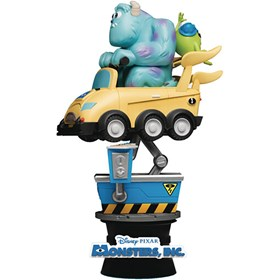 Diorama Monsters Inc DS-037 Monstros SA Coin Ride D-Stage Dream Select Previews Exclusive - Disney -