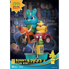 Diorama Toy Story 4 DS-062 Bunny & Ducky Coin Ride D-Stage Dream Select Previews Exclusive - Disney