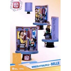 Diorama Wreck-It Ralph 2 DS-024 Belle D-Stage Dream Select Previews Exclusive - Detona Ralph - Disne