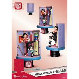 Diorama Wreck-It Ralph 2 DS-054 Mulan D-Stage Dream Select Previews Exclusive - Detona Ralph - Disne