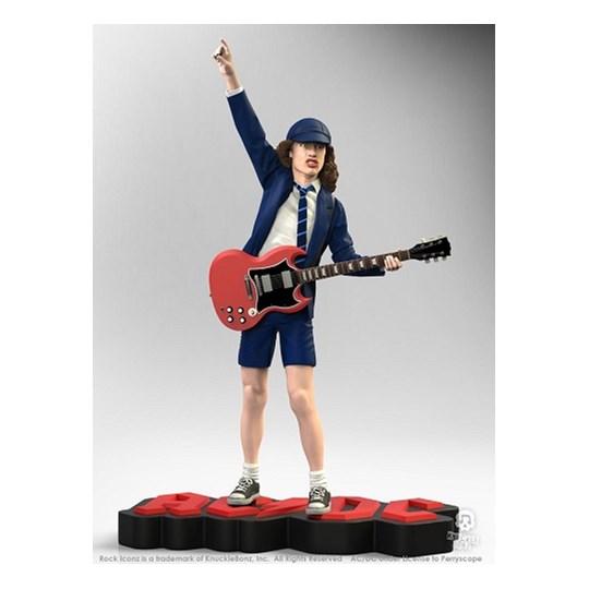 Estátua Angus Young II Knucklebonz - Rock Iconz Statue