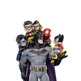 Estátua Batman Family 37 cm Q-Master Quantum Mechanix
