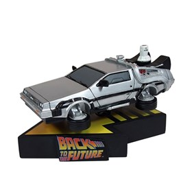 Estátua Delorean Time Machine Premium - De Volta Para o Futuro - Factory Entertainment