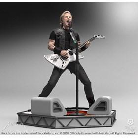 Estátua James Hetfield Knucklebonz - Metallica - Rock Iconz Statue