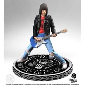 Estátua Johnny Ramone KnuckleBonz - The Ramones - Rock Iconz Statue
