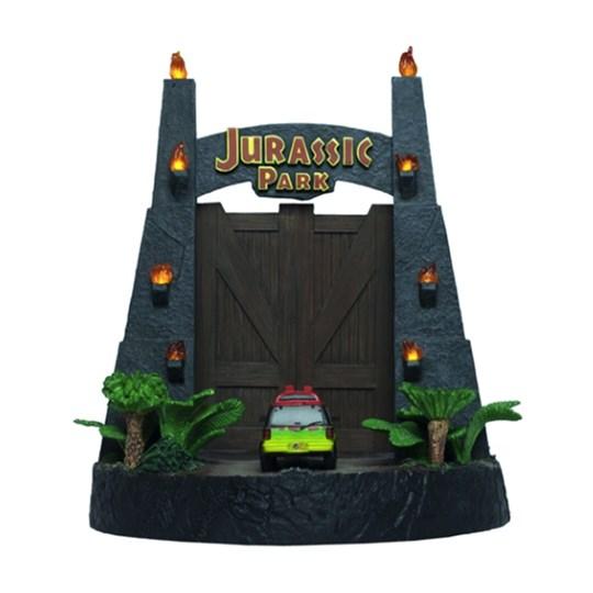 Estátua Jurassic Park Gates Environment Sculpture - Portões - Factory Entertainment