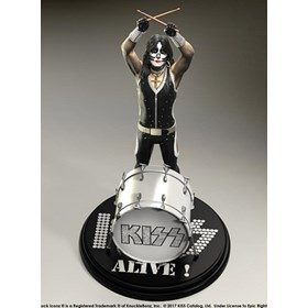 Estátua Kiss The Catman - Alive! KnuckleBonz - Rock Iconz Statue