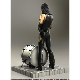 Estátua Kiss The Catman - Hotter Than Hell Knucklebonz - Rock Iconz Statue