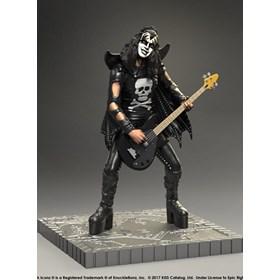 Estátua Kiss The Demon - Hotter Than Hell KnuckleBonz - Rock Iconz Statue