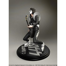 Estátua Kiss The Spaceman - Alive! KnuckleBonz - Rock Iconz Statue