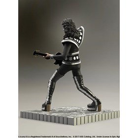 Estátua Kiss The Spaceman - Hotter Than Hell Knucklebonz - Rock Iconz Statue