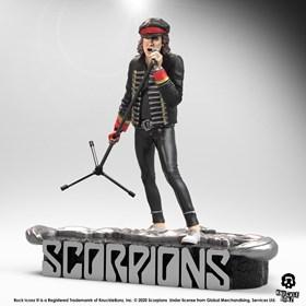 Estátua Klaus Meine Knucklebonz - Scorpions - Rock Iconz Statue