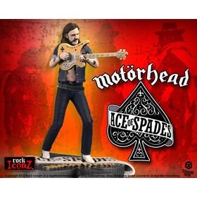 Estátua Lemmy Kilmister III Ace of Spades Knucklebonz - Motorhead - Rock Iconz Statue