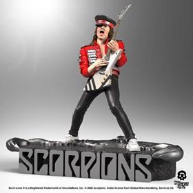 Estátua Matthias Jabs Knucklebonz - Scorpions - Rock Iconz Statue