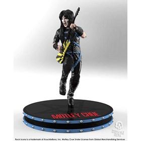 Estátua Mick Mars Motley Crue Knucklebonz - Rock Iconz Statue