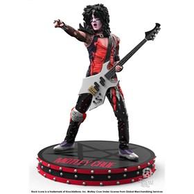 Estátua Nikki Sixx Motley Crue Knucklebonz - Rock Iconz Statue