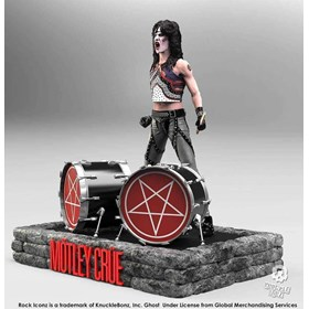 Estátua Tommy Lee Motley Crue Knucklebonz - Rock Iconz Statue