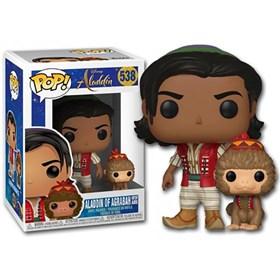 Funko Pop Aladdin of Agrabah with Apu #538 - Aladdin - Disney