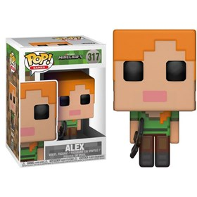 Funko Pop Alex #317 - Minecraft - Games