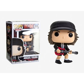 Funko Pop Angus Young #91 - AC DC Pop! Rocks - Música
