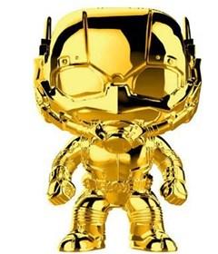 Produto Funko Pop Ant-Man Gold Chrome #384 Homem-Formiga - Dourado Marvel 10 Years Edition