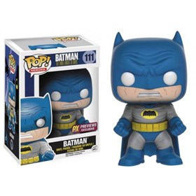 Funko Pop Batman Blue Version #111 Previews Exclusive - Dark Knight Return - Cavaleiros das Trevas Frank Miller