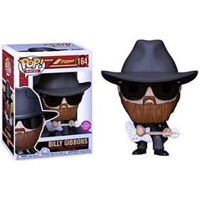 Funko Pop Billy Gibbons (Flocked) #164 - ZZTop - Pop Rocks!
