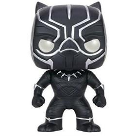 Funko Pop Black Panther #130 - Pantera Negra Guerra Civil - Marvel