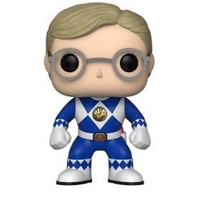 Funko Pop Blue Ranger #673 - Billy No Helmet - Power Rangers Azul
