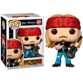 Funko Pop Bret Michaels #207 - Poison - Pop Rocks!
