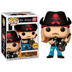Funko Pop Bret Michaels Chase Edition #207 - Poison - Pop Rocks!