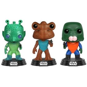 Funko Pop Cantina 3-Pack Exclusive Greedo Hammerhead Walrus Head - Star Wars